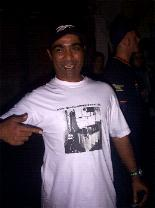 Kenny (KING ORIGINAL CREW /London) and his brand new ROOTS COMMANDMENT T-SHIRT !