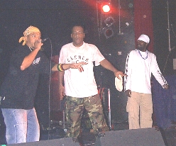 MC SOULTRAIN, DADDY FREDDY & JAH BLESS